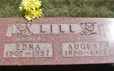 LILL, AUGUST & EDNA - Ida County, Iowa | AUGUST & EDNA LILL
