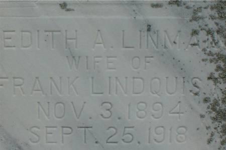 LINDQUIST, EDITH A. - Ida County, Iowa | EDITH A. LINDQUIST