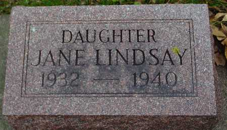 LINDSAY, JANE - Ida County, Iowa | JANE LINDSAY