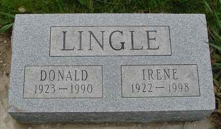 LINGLE, DONALD & IRENE - Ida County, Iowa | DONALD & IRENE LINGLE