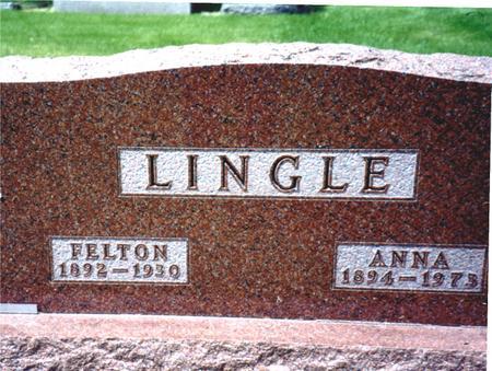LINGLE, FELTON - Ida County, Iowa | FELTON LINGLE