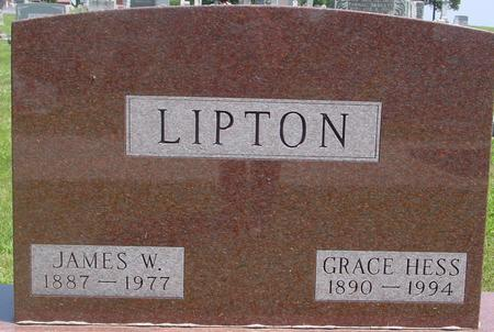 HESS LIPTON, GRACE - Ida County, Iowa | GRACE HESS LIPTON