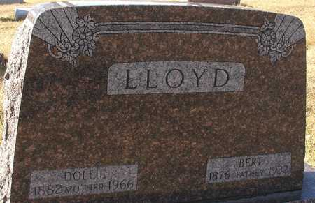 LLOYD, BERT & DOLLIE - Ida County, Iowa   BERT & DOLLIE LLOYD