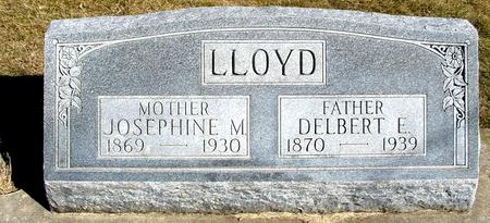 LLOYD, DELBERT & JOSEPHINE - Ida County, Iowa | DELBERT & JOSEPHINE LLOYD