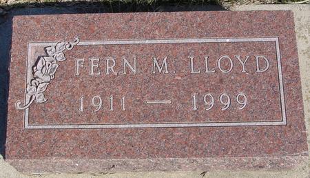 LLOYD, FERN - Ida County, Iowa | FERN LLOYD