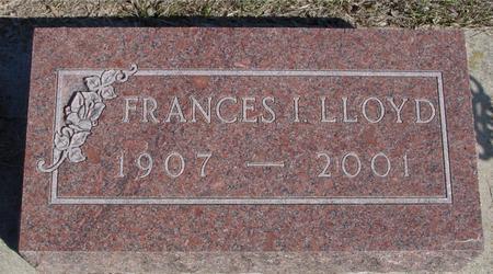 LLOYD, FRANCES - Ida County, Iowa | FRANCES LLOYD