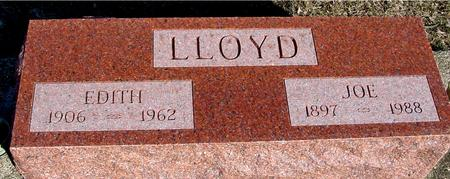 LLOYD, JOE & EDITH - Ida County, Iowa | JOE & EDITH LLOYD