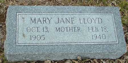 LLOYD, MARY JANE - Ida County, Iowa | MARY JANE LLOYD