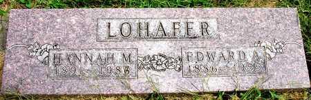LOHAFER, EDWARD & HANNAH - Ida County, Iowa | EDWARD & HANNAH LOHAFER