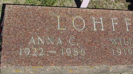 LOHFF, ANNA C. - Ida County, Iowa | ANNA C. LOHFF