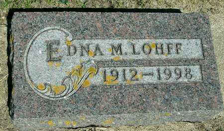 LOHFF, EDNA M. - Ida County, Iowa | EDNA M. LOHFF
