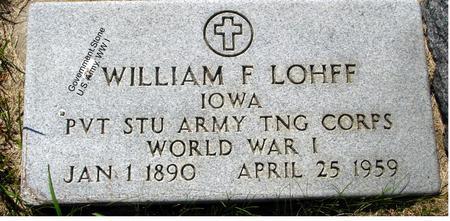 LOHFF, WILLIAM - Ida County, Iowa | WILLIAM LOHFF