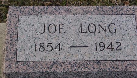 LONG, JOE - Ida County, Iowa   JOE LONG