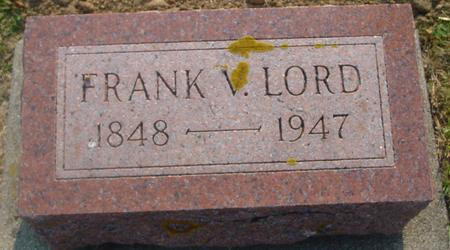 LORD, FRANK V. - Ida County, Iowa | FRANK V. LORD