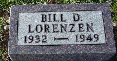 LORENZEN, BILL D. - Ida County, Iowa | BILL D. LORENZEN