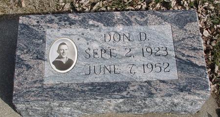 LORENZEN, DON D. - Ida County, Iowa | DON D. LORENZEN