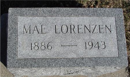LORENZEN, MAE - Ida County, Iowa | MAE LORENZEN