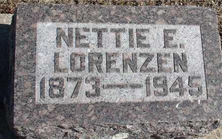 LORENZEN, NETTIE E. - Ida County, Iowa | NETTIE E. LORENZEN
