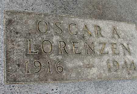 LORENZEN, OSCAR A. - Ida County, Iowa | OSCAR A. LORENZEN