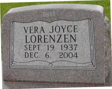 LORENZEN, VERA JOYCE - Ida County, Iowa | VERA JOYCE LORENZEN
