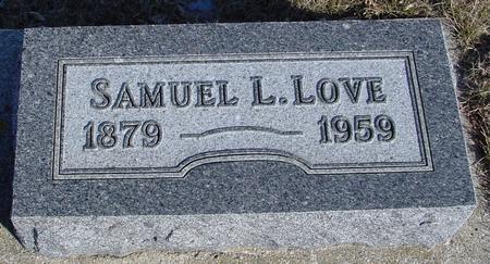 LOVE, SAMUEL L. - Ida County, Iowa | SAMUEL L. LOVE