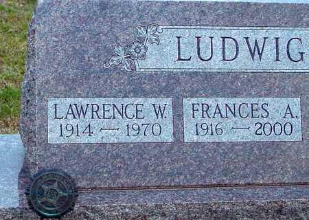 LUDWIG, FRANCES A. - Ida County, Iowa | FRANCES A. LUDWIG