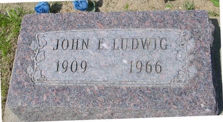 LUDWIG, JOHN E. - Ida County, Iowa | JOHN E. LUDWIG