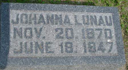 LUNAU, JOHANNA - Ida County, Iowa | JOHANNA LUNAU