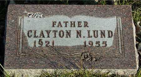 LUND, CLAYTON N. - Ida County, Iowa | CLAYTON N. LUND