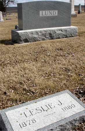 LUND, LESLIE J. - Ida County, Iowa | LESLIE J. LUND