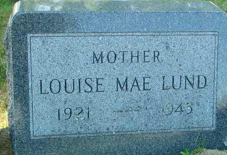 LUND, LOUISE MAE - Ida County, Iowa   LOUISE MAE LUND