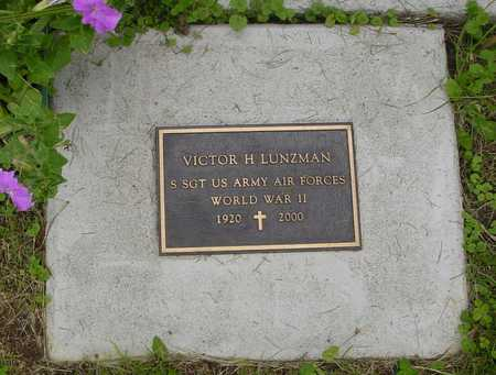 LUNZMAN, VICTOR H. - Ida County, Iowa   VICTOR H. LUNZMAN