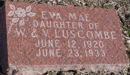 LUSCOMBE, EVA MAE - Ida County, Iowa | EVA MAE LUSCOMBE