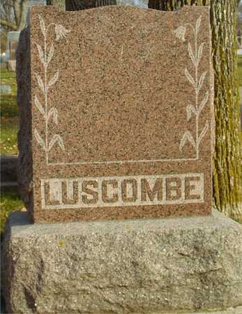 LUSCOMBE, FAMILY MARKER - Ida County, Iowa | FAMILY MARKER LUSCOMBE