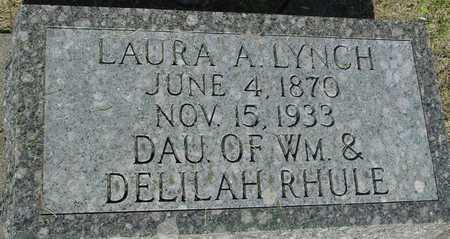 RHULE LYNCH, LAURA A. - Ida County, Iowa | LAURA A. RHULE LYNCH