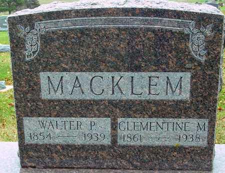MACKLEM, WALTER & CLEMENTINE - Ida County, Iowa | WALTER & CLEMENTINE MACKLEM