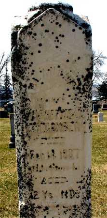 MACOMBER, BLANCHE - Ida County, Iowa   BLANCHE MACOMBER