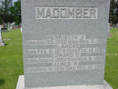 MACOMBER, JAMES - Ida County, Iowa   JAMES MACOMBER