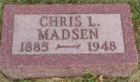 MADSEN, CHRIS L. - Ida County, Iowa   CHRIS L. MADSEN