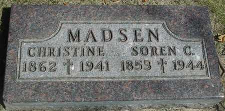 MADSEN, CHRISTINE - Ida County, Iowa   CHRISTINE MADSEN
