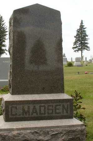 MADSEN, FAMILY MARKER - Ida County, Iowa | FAMILY MARKER MADSEN