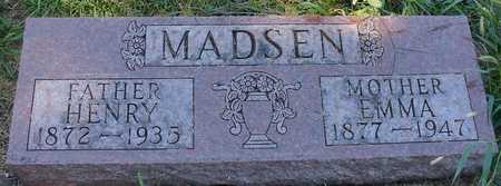 MADSEN, HENRY & EMMA - Ida County, Iowa | HENRY & EMMA MADSEN