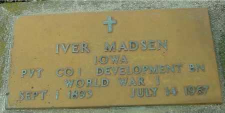 MADSEN, IVER - Ida County, Iowa | IVER MADSEN