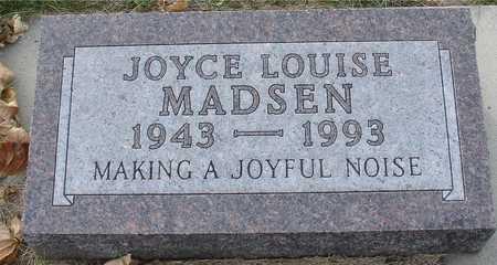 MADSEN, JOYCE LOUISE - Ida County, Iowa | JOYCE LOUISE MADSEN