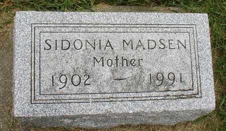 MADSEN, SIDONIA - Ida County, Iowa | SIDONIA MADSEN