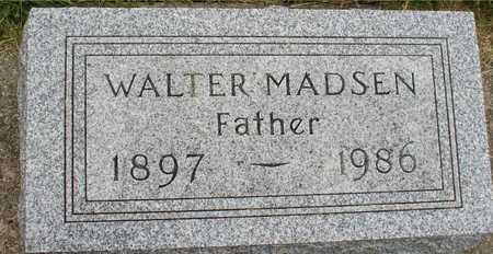 MADSEN, WALTER - Ida County, Iowa   WALTER MADSEN