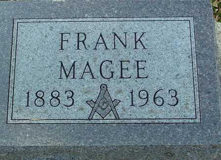 MAGEE, FRANK - Ida County, Iowa | FRANK MAGEE