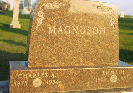 MAGNUSON, CHARLES & EMMA - Ida County, Iowa   CHARLES & EMMA MAGNUSON