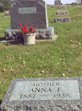 MAKIS, ANNA F. - Ida County, Iowa | ANNA F. MAKIS