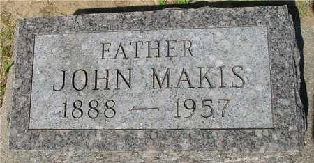 MAKIS, JOHN - Ida County, Iowa | JOHN MAKIS